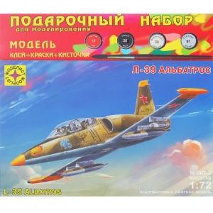 СБОРНАЯ МОДЕЛЬ «САМОЛЁТ Л-39 «АЛЬБАТРОС» 23083